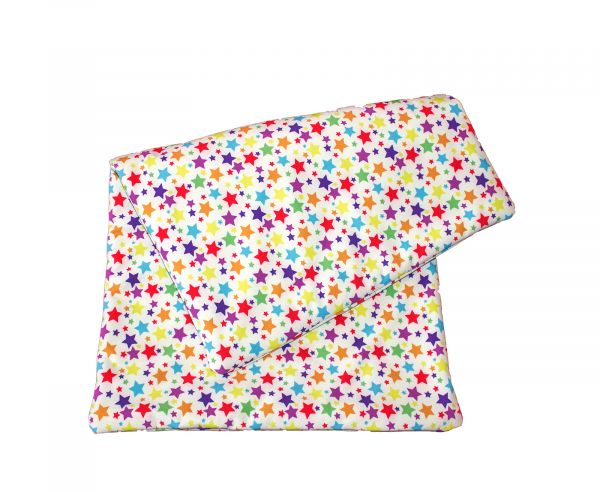 softshell blanket stars colorful