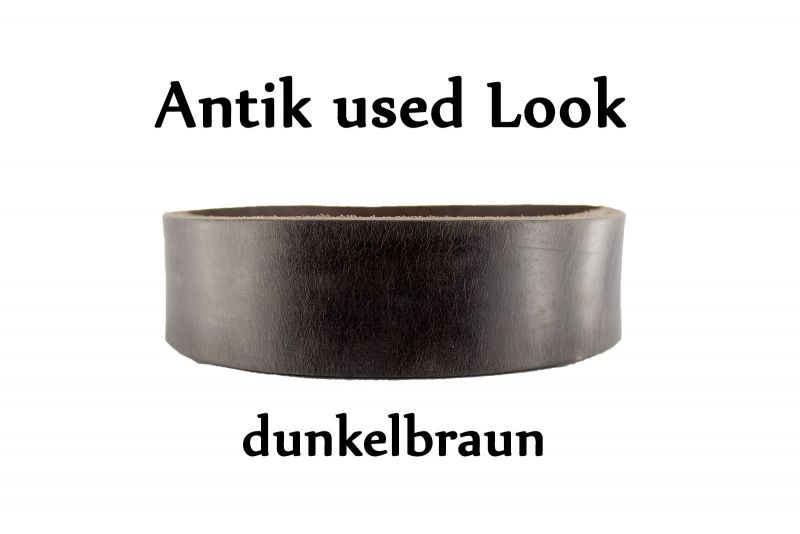 Antik used look Leder