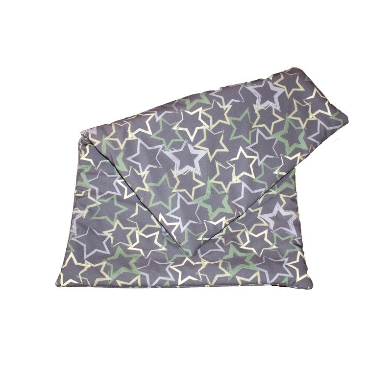 softshell blanket stars grey