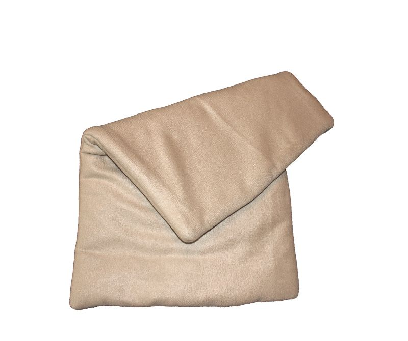 Fleece blanket beige
