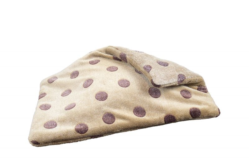 fleece blanket with dots